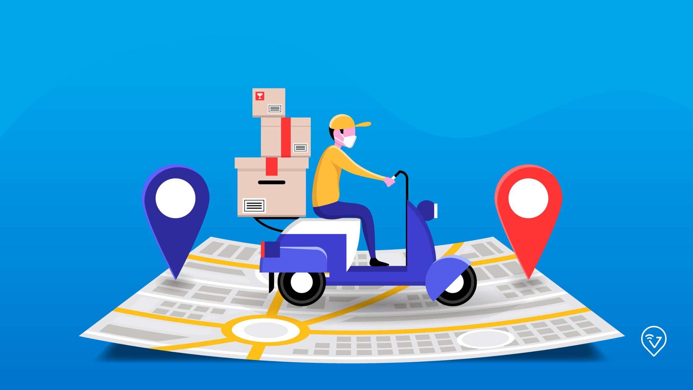 Entenda porque você precisa roteirizar as entregas no Delivery