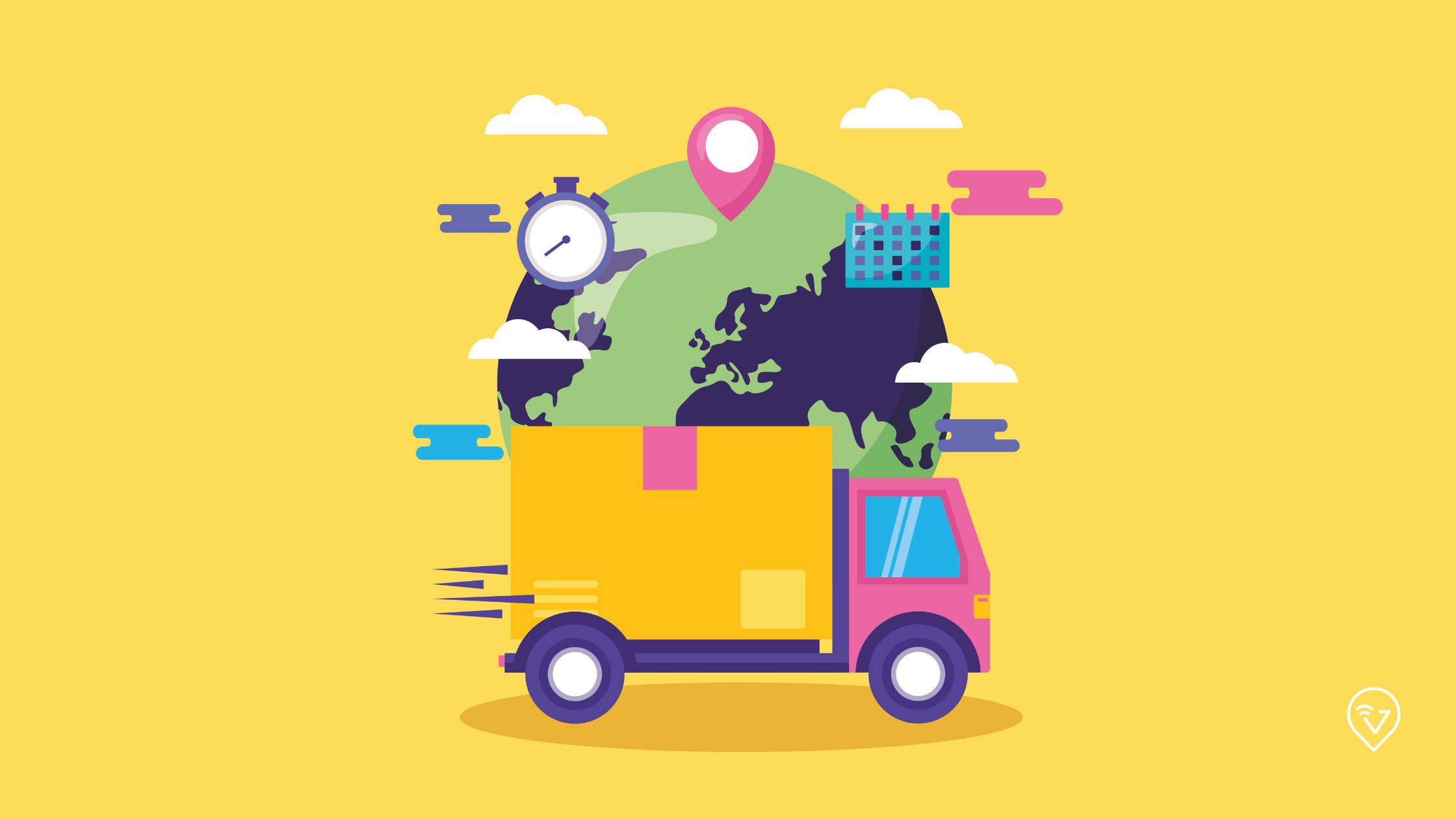 gestão de entregas na logística
