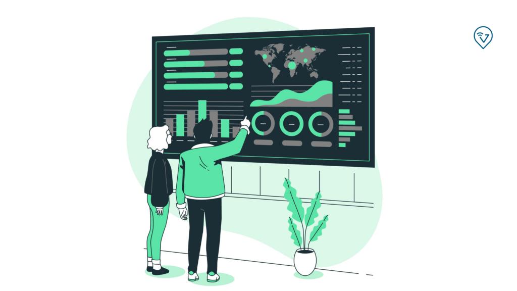 indicador logístico como criar um dashboard
